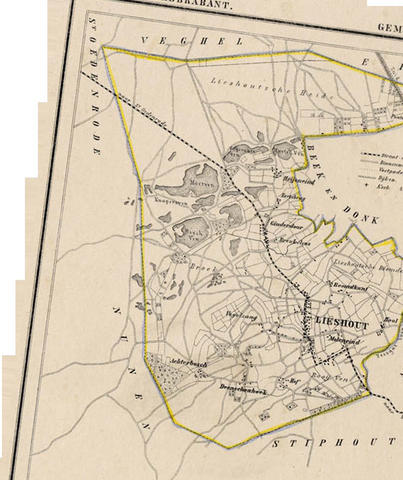 arrangementen map background